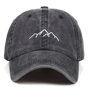 Mountain Range Baseball Cap | Kitsch Kandy Clothing - Tomboy Styles