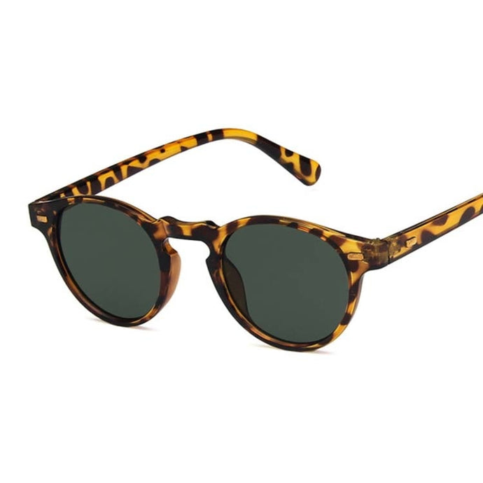 Vintage Rounded Sunglasses, Tortoiseshel | Kitsch Kandy Clothing - Tomboy Styles