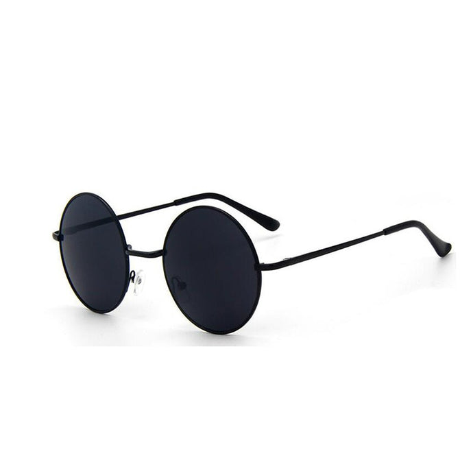 Rounded Sunglasses, Black | Kitsch Kandy Clothing - Tomboy Styles