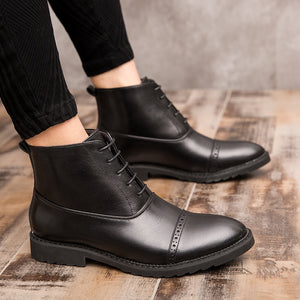 Lace Ankle Boots | Kitsch Kandy Clothing - Tomboy Styles
