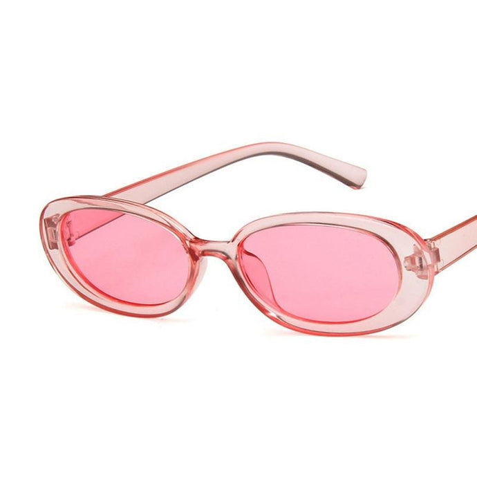 Oval Sunglasses, Pink | Kitsch Kandy Clothing - Tomboy Styles