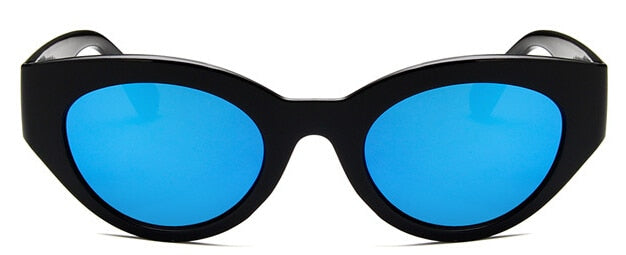 Oversized Sunglasses, Blue | Kitsch Kandy Clothing - Tomboy Styles