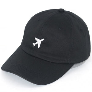Airplane Baseball Cap | Kitsch Kandy Clothing - Tomboy Styles