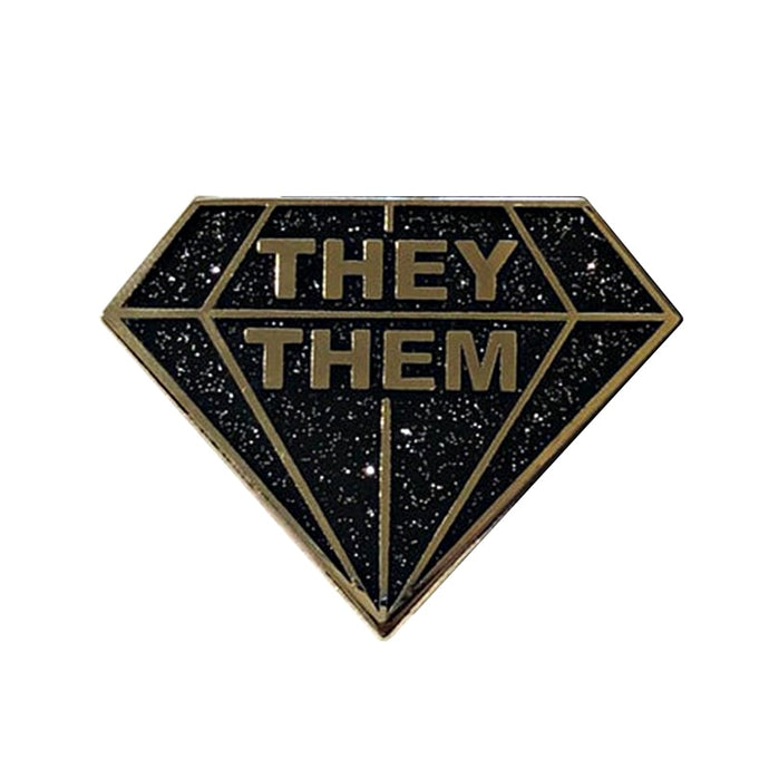 They / Them Pin