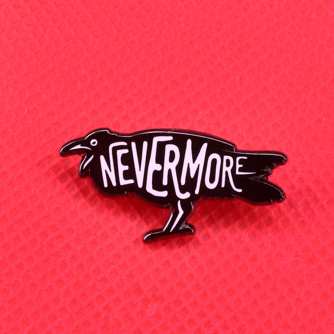 Nevermore pin | Kitsch Kandy Clothing - Tomboy Styles