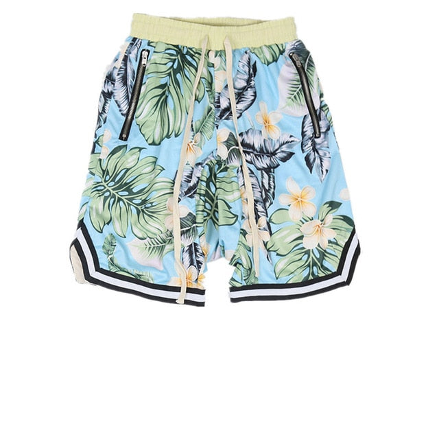Floral Print Shorts | Kitsch Kandy Clothing - Tomboy Styles