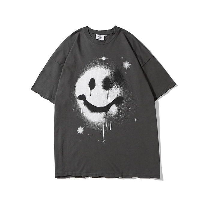SMILEY T-Shirt | Kitsch Kandy Clothing - Tomboy Styles