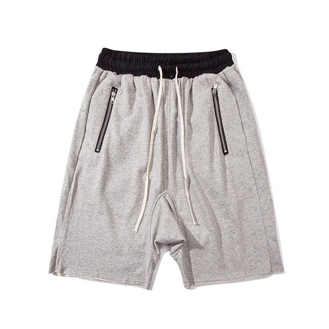 Baggy Jersey Shorts | Kitsch Kandy Clothing - Tomboy Styles