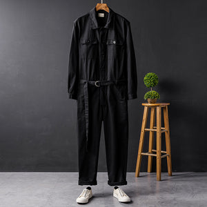 Belted Boiler Suit | Kitsch Kandy Clothing - Tomboy Styles