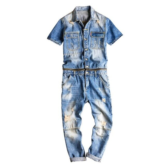 Two-Piece Boiler Suit - Kitsch Kandy Clothing