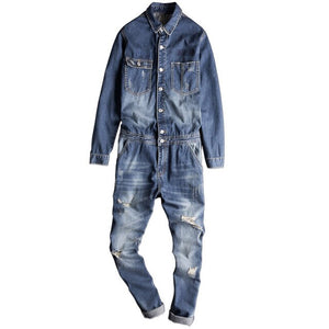 Denim Boiler Suit | Kitsch Kandy Clothing - Tomboy Styles