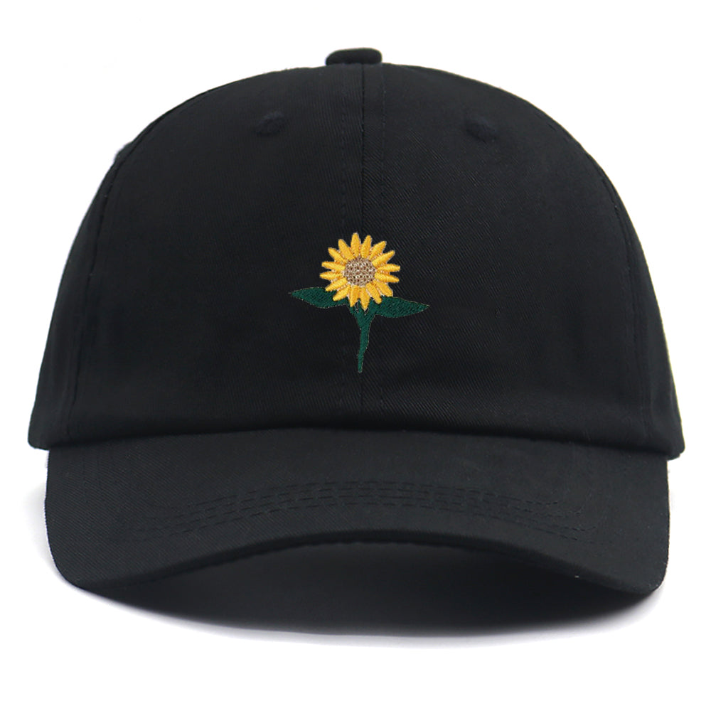 Sunflower Baseball Cap | Kitsch Kandy Clothing - Tomboy Styles