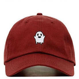 Ghost Baseball Cap | Kitsch Kandy Clothing - Tomboy Styles