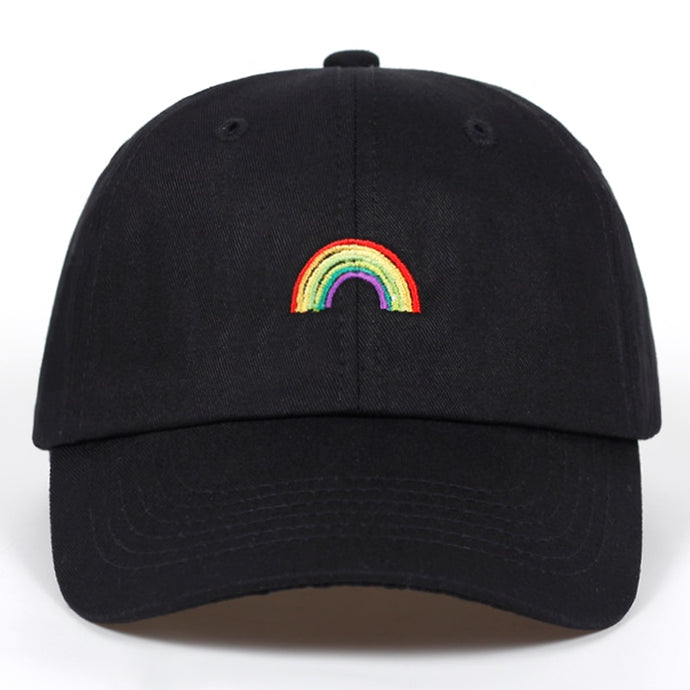 Rainbow Baseball Cap - Kitsch Kandy Clothing