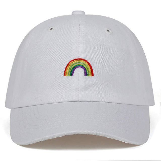 Rainbow Baseball Cap | Kitsch Kandy Clothing - Tomboy Styles
