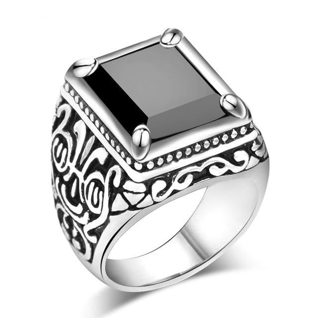 Black Tribal Ring