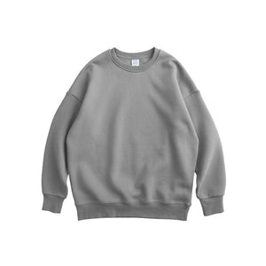 Grey Plain Sweatshirt.