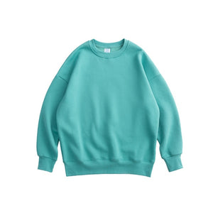 Mint Plain Sweatshirt