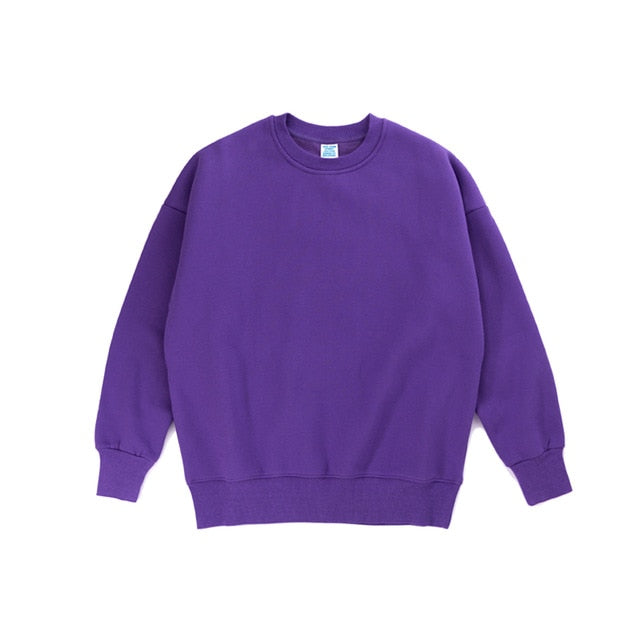 Purple Plain Sweatshirt