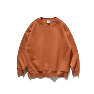 Burnt Orange Plain Sweatshirt