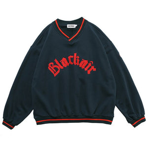 Blackair V-neck Sweatshirt.