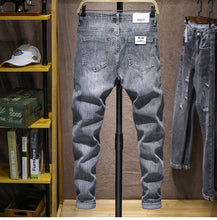Bleached Jeans in Grey.