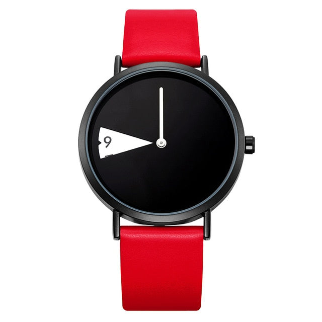 GEO Watch With Red Strap