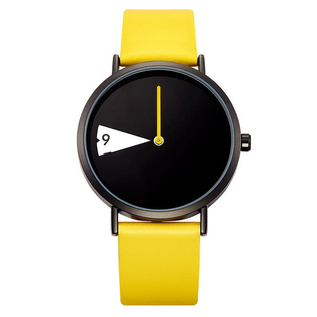 GEO Watch With YellowStrap