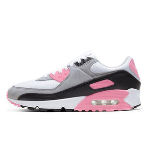 Running Trainer in White w/ Pink Trim