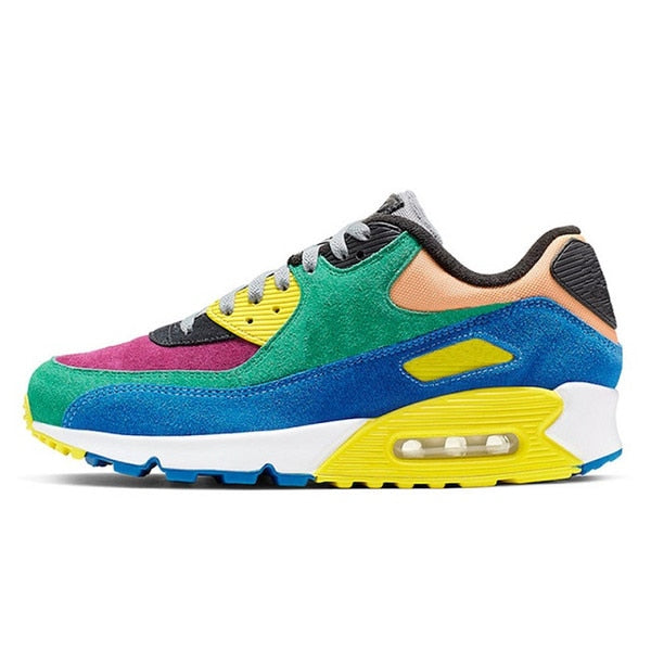 Running Trainer in Multi Coloured