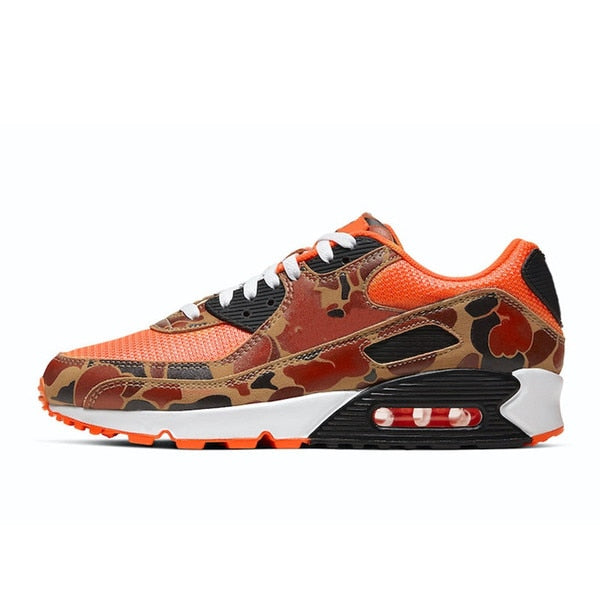 Running Trainer in Orange w/ Camo Trim
