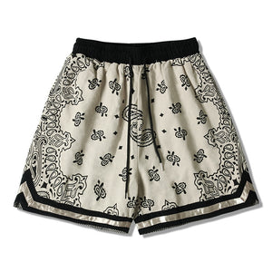 Paisley Pattern Shorts