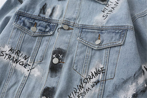 Graffiti Denim Jacket.