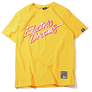 ELECTRIO DREAMS T-Shirt | Kitsch Kandy Clothing - Tomboy Styles