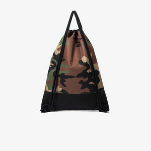 Camo Drawstring Backpack by INFLATION - Kitsch Kandy Clothing
