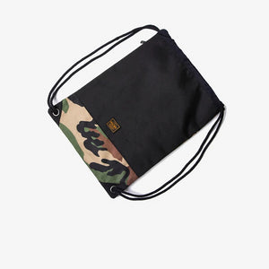 Camo Drawstring Backpack by INFLATION - Kitsch Kandy - Tomboy Styles