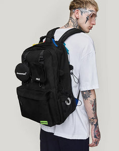 Military Backpack by INFLATION - Kitsch Kandy - Tomboy Styles