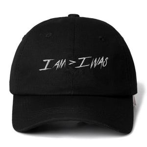 I AM > I WAS Baseball Cap | Kitsch Kandy Clothing - Tomboy Styles