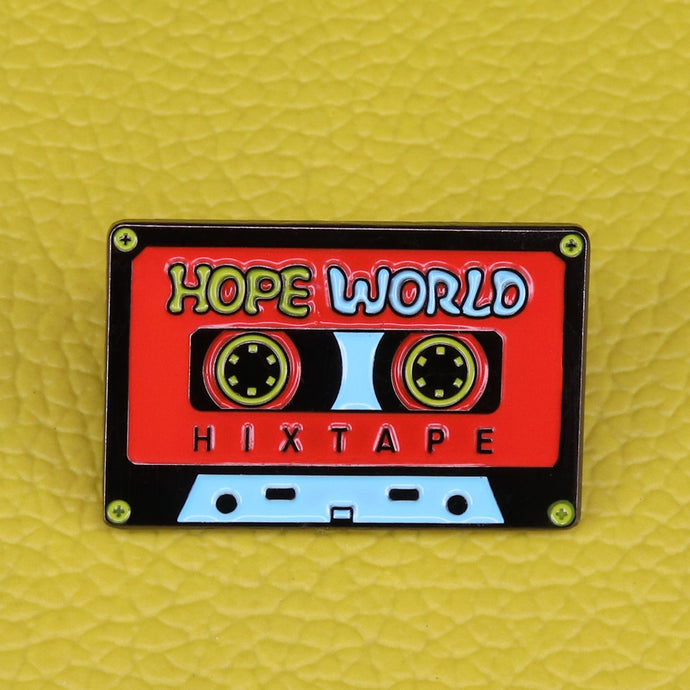 Hope World Pin | Kitsch Kandy Clothing - Tomboy Styles