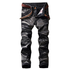 ROXIE Bleached Jeans, Black | Kitsch Kandy Clothing - Tomboy Styles