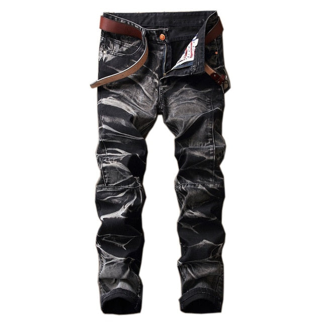 ROXIE Bleached Jeans, Black - Kitsch Kandy Clothing
