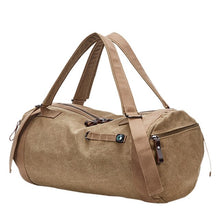 Canvas Holdall Bag, Sand | Kitsch Kandy Clothing - Tomboy Styles