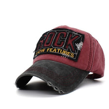 ROCK Retro Trucker Cap | Kitsch Kandy Clothing - Tomboy Styles