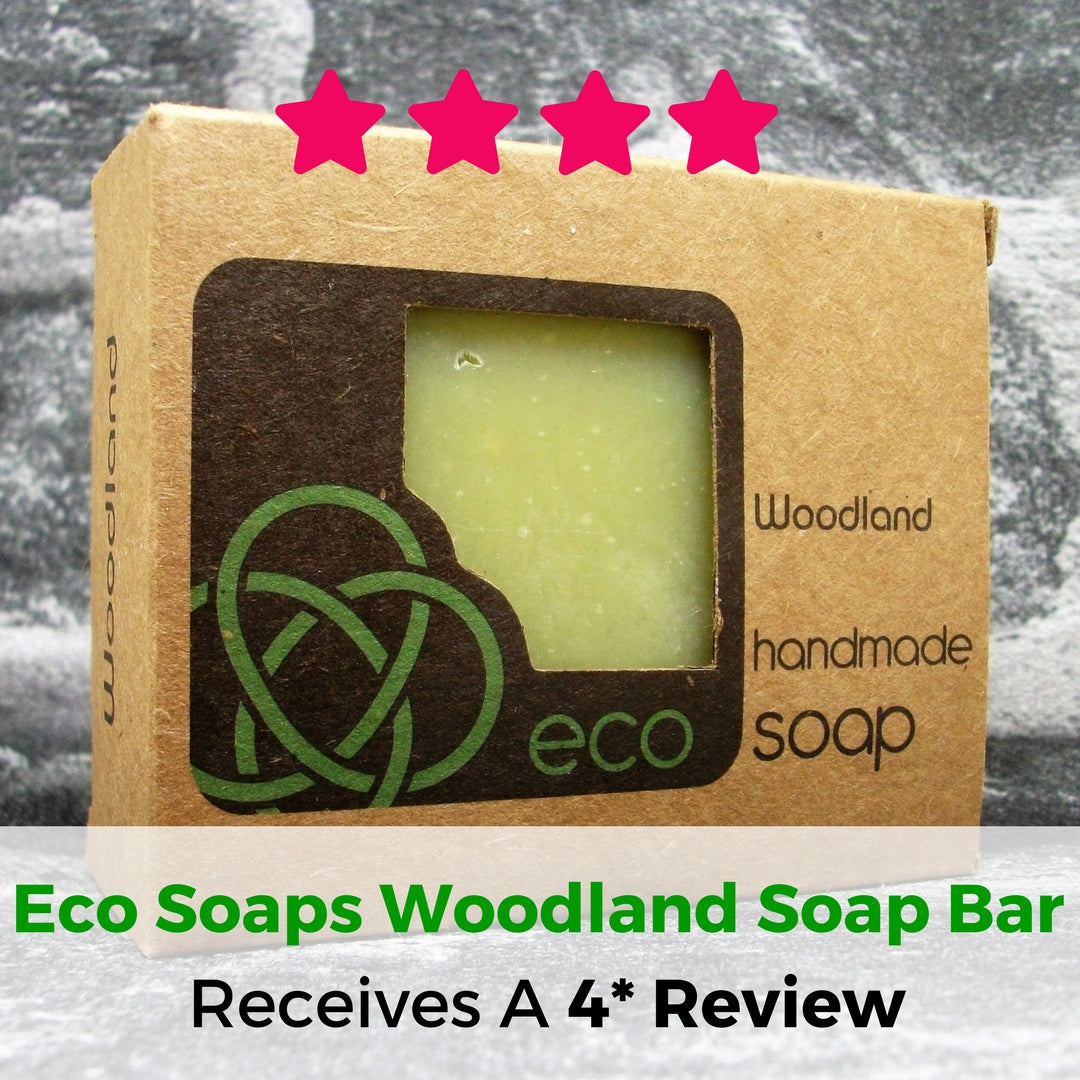 Eco Soaps Woodland Soap Bar Review - Adam & Eco