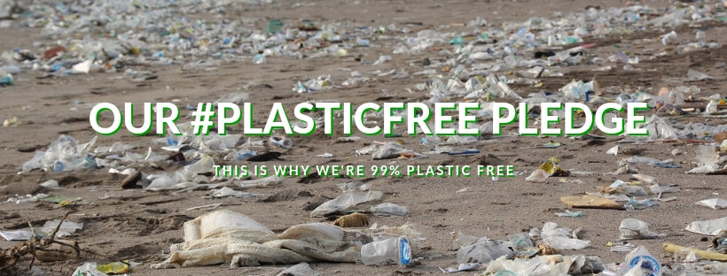 Our Plastic Free Pledge | Why We're 99% Plastic Free | Adam & Eco