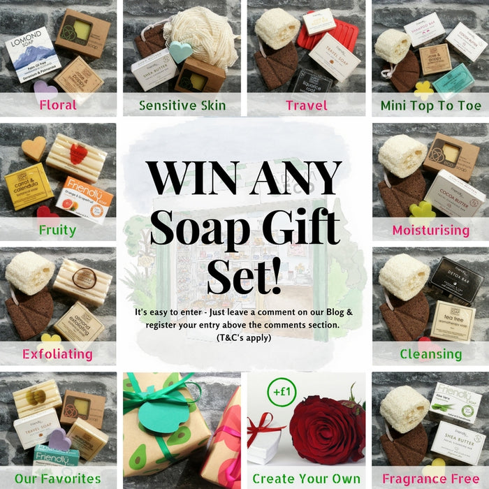 Win Any Bath Soap Gift Set Competition - Adam & Eco