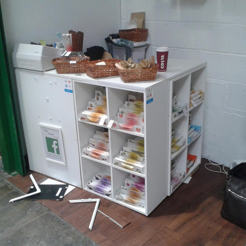 Someone Attempting To Break In To Our Leeds Soap Shop