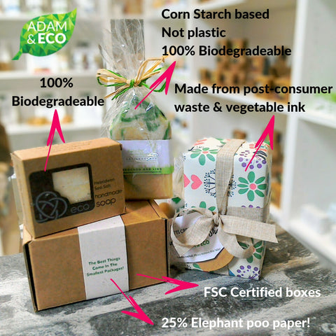 Our Plastic Free Products | Adam & Eco