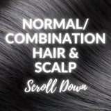 Solid Shampoo Bars For Normal Or Combination Hair & Scalp Types