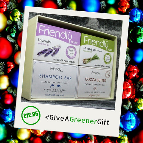 Friendly Soap Ethical Woman Soap Gift Set Open - Adam & Eco